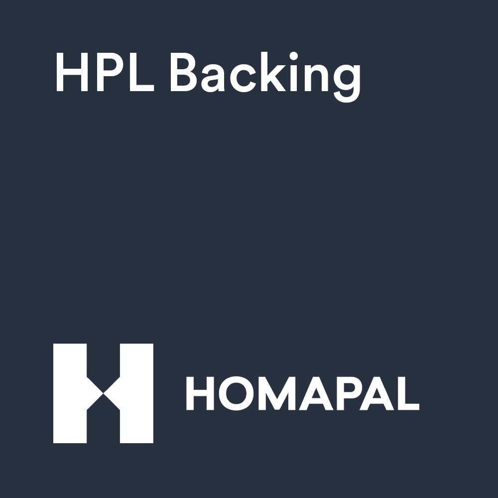Homapal® HPL Backing B016