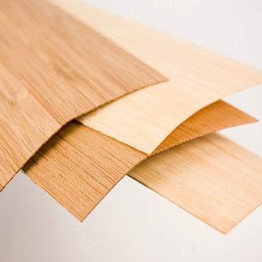 Fineer Bamboe Plainpressed Caramel