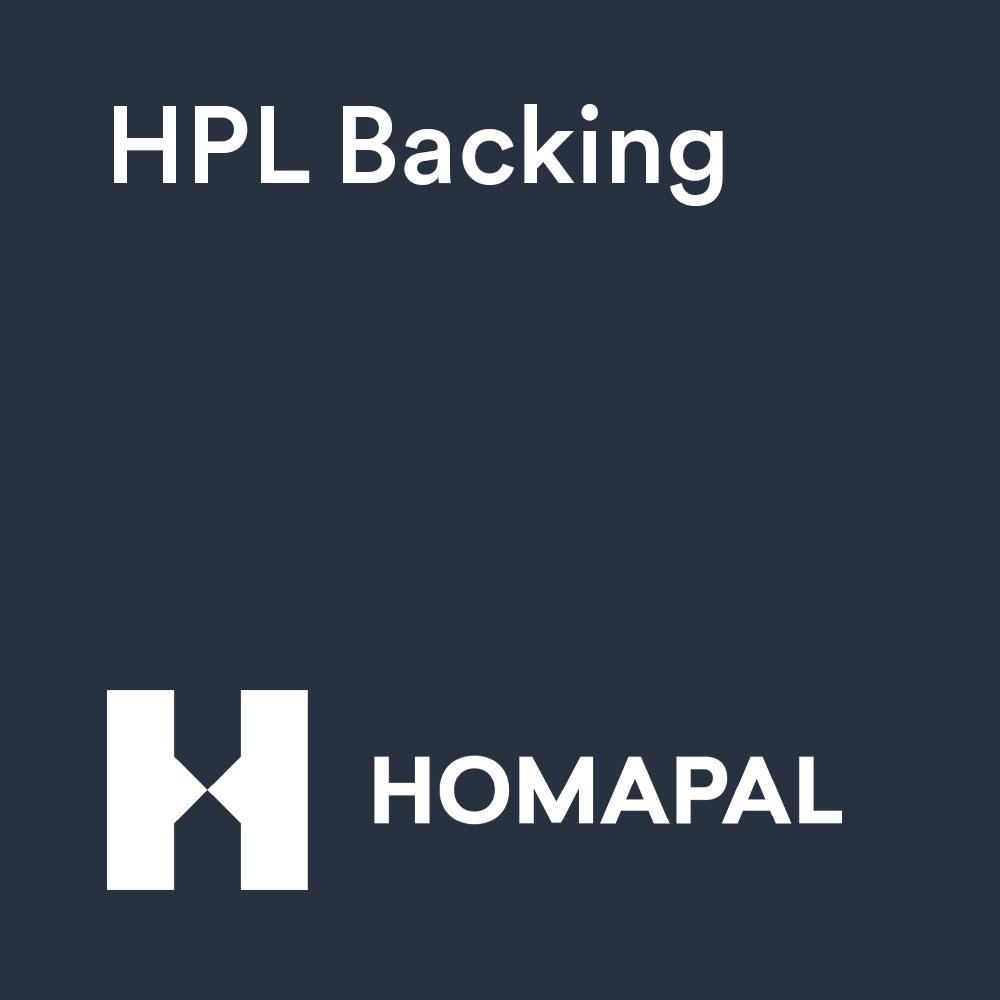 Homapal® HPL Backing B007