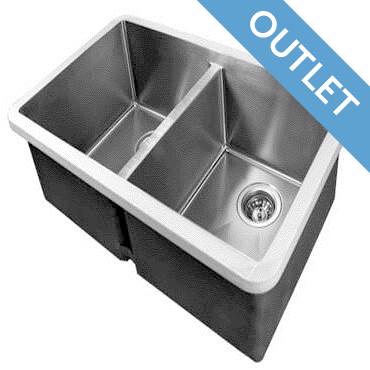 Edgesinks Double Sink PFRE 400 Keukenbak