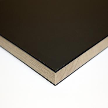 ABS Kantenband Zwart/Eiken dwars product photo