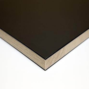ABS Kantenband Zwart/Eiken langs product photo