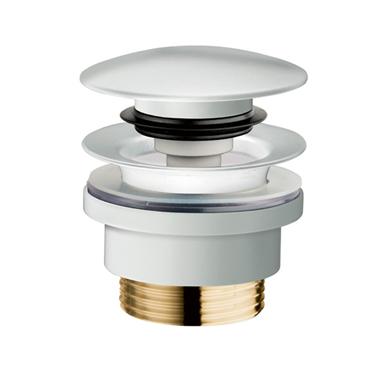 HI-MACS® Sanitair popup afvoerplug wit
